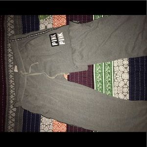 Grey sweatpants from Pink